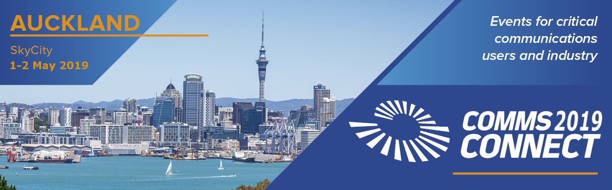 Comms Connect Auckland May 1-2, 2019